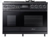 "DOP48M96DPS Dacor 48"" Freestanding Dual Fuel Range with Illumina Knobs and Wi-Fi Connection - Liquid Propane - Stainless Steel"