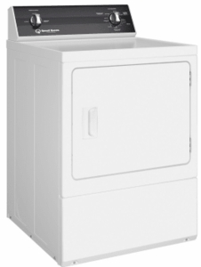"DR3000WG Speed Queen 27"" Gas Dryer with 3-Temperature Settings and 2-Auto Dry Cycles - White"