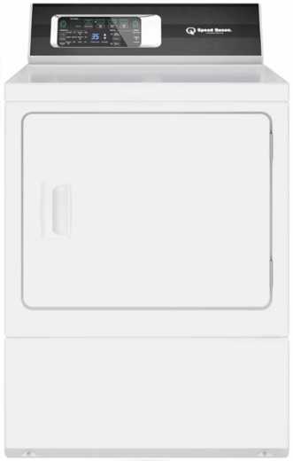 "DR7000WE Speed Queen 27"" Electric Dryer with Moisture Sensor and EcoDry Option - White"