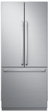"DRF367500AP Dacor Heritage Series 36"" French Door Counter Depth Bottom Freezer Refrigerator with FreshZone Drawer and PreciseTemp Technology - Custom Panel"