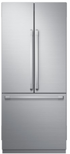 "DRF367500AP Dacor 36"" Contemporary Built-In French Door Bottom Freezer Refrigerator with FreshZone Drawer and PreciseTemp Technology - Custom Panel"