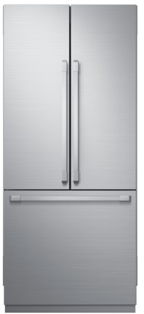"DRF367500AP Dacor 36"" Modernist Series Built-In French Door Bottom Freezer Refrigerator with FreshZone Drawer and PreciseTemp Technology - Custom Panel"