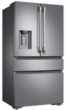 "DRF36C100SR Dacor 36"" Heritage Series French Door Counter Depth Bottom Freezer Refrigerator with FreshZone Drawer and PreciseTemp Technology - Stainless Steel"