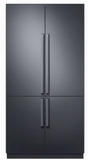 "DRF427500AP Dacor 42"" Modernist Series French 4 Door Bottom Mount Refrigerator with FreshZone Drawer and Triple Cooling - Custom Panel"