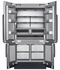 """DRF427500AP Dacor 42"""" Modernist Series French 4 Door Bottom Mount Refrigerator with FreshZone Drawer and Triple Cooling - Custom Panel"""