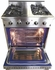 "DRGB3001LP NXR 30"" Professional Range with Four Burners, Convection Oven, Liquid Propane - Stainless Steel"