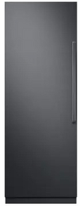 "DRR30980LAP  30""  Dacor Contemporary 17.8 cu. ft. Left Hinge Column Refrigerator with FreshZone Drawer and Power Cool - Custom Panel"