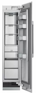 "DRZ18980RAP 18"" Dacor Modernist Series 9.4 cu. ft. Right Hinge Column Freezer with Dual Ice Makers and Power Freeze - Custom Panel"