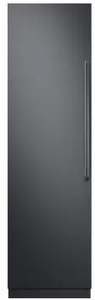 """DRZ24980LAP 24"""" Dacor Contemporary 13.6 cu. ft. Left Hinge Column Freezer with Dual Ice Makers and Power Freeze - Custom Panel"""