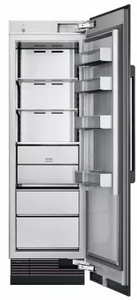 "DRZ24980RAP 24"" Dacor Contemporary 13.6 cu. ft. Right Hinge Column Freezer with Dual Ice Makers and Power Freeze - Custom Panel"
