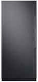 """DRZ36980LAP 36"""" Dacor Modernist Series 21.1 cu. ft. Left Hinge Column Freezer with Dual Ice Makers and Power Freeze - Custom Panel"""