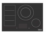 "DTI30M977BB Dacor 30"" Modernist Collection Induction Cooktop with Flex Zone and LCD Control Panel - Black Ceramic Glass"