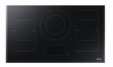 "DTI36M977BB Dacor 36"" Modernist Collection Induction Cooktop with Flex Zone and LCD Control Panel - Black Ceramic Glass"