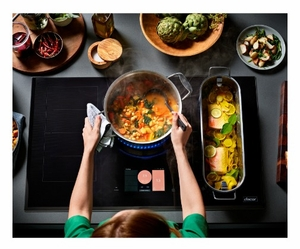 "DTI36M977BB Dacor 36"" Contemporary Induction Cooktop with Flex Zone and LCD Control Panel - Black Ceramic Glass"