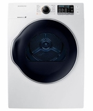 "DV22K6800EW Samsung 24"" Electric Front-Load Dryer with 4.0 cu. ft. Capacity and Sensor Dry - White"