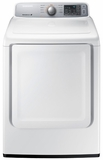 DV45H7000EW Samsung 7.4 cu. ft. Capacity Electric Front Load Dryer with Sensor Dry - White