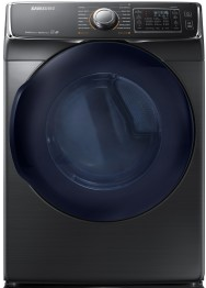 """DV45K6500EV Samsung 27"""" 7.5 cu. ft. Electric Dryer with 14 Dry Cycles and 11 Dry Options - Black Stainless"""