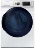 "DV45K6500EW Samsung 27"" Electric Front-Load Dryer with 7.5 cu. ft. Capacity and 14 Dry Cycles - White"