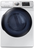 "DV50K7500EW Samsung 27"" 7.5 cu. ft. Electric Dryer with 14 Dry Cycles 12 Options and 5 Temperature Selections - White"