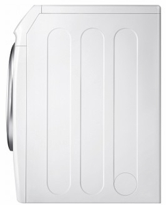 """DVE45N5300W Samsung 27"""" Front Load 7.5 cu. ft. Electric Dryer with Multi Steam Technology and Sensor Dry - White"""