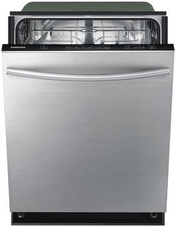 DW80F600UTS Samsung Top Control Dishwasher with Stainless Steel Tub - Stainless Steel