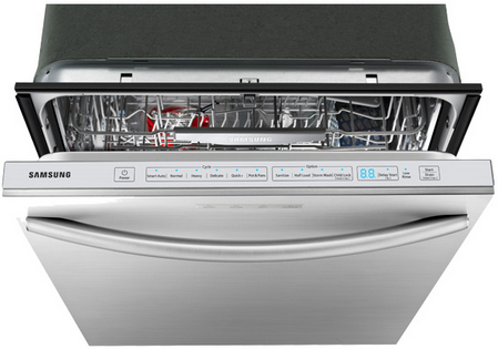 dw80f800uws samsung top control dishwasher with stainless steel tub stainless steel