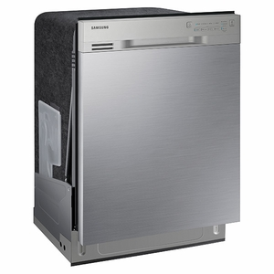 """DW80J3020US Samsung 24"""" Front Control Dishwasher with Stainless Steel Interior - Stainless Steel"""