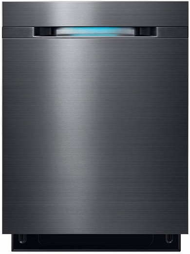 DW80J7550UG Samsung Top Control Dishwasher with WaterWall Technology - Black Stainless Steel