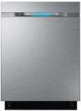 "DW80J7550US Samsung 24"" Top Control Dishwasher with WaterWall Technology - Stainless Steel"
