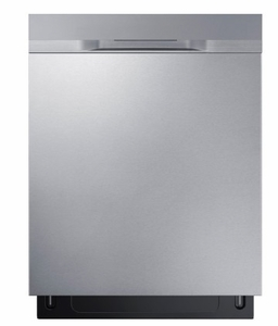 "DW80K50505US Samsung 24"" Fully Integrated Dishwasher with 6 Wash Cycles and Hard Food Disposer - Stainless Steel"