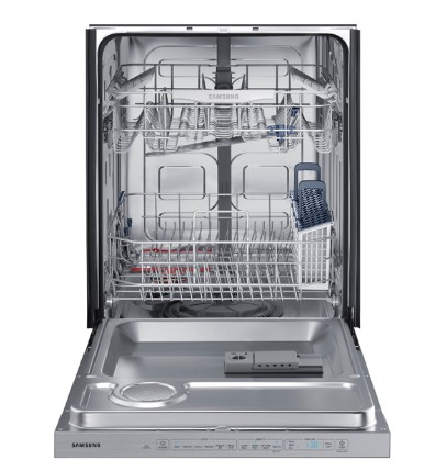 "DW80K5050US Samsung 24"" Fully Integrated Dishwasher with 6 Wash Cycles and Hard Food Disposer - Stainless Steel"