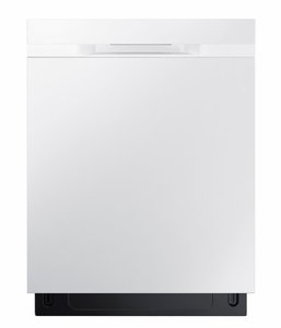 "DW80K50505UW Samsung 24"" Fully Integrated Dishwasher with 6 Wash Cycles and Hard Food Disposer - White"