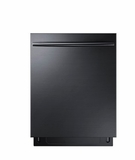 "DW80K70505UG Samsung 24"" Built In Fully Integrated Dishwasher with 6 Wash Cycles and StormWash - Black Stainless Steel"