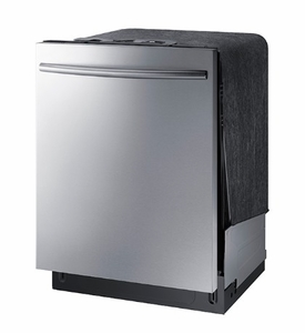 "DW80K7050US Samsung 24"" Built In Fully Integrated Dishwasher with 6 Wash Cycles and StormWash - Stainless Steel"