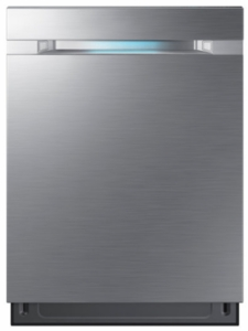 "DW80M9550US Samsung 24"" Top Control Dishwasher with WaterWall Technology and AutoRelease Door - Stainless Steel"