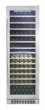 DWC140D1BSSPR Danby Silhouette Professional Bordeaux Dual Zone Wine Cellar - Stainless Steel
