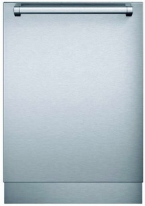 "DWHD860RFP Thermador 24"" Star Sapphire Series Professional Handle Fully Integrated Dishwasher with Star Glow Light and Star Speed - Stainless Steel"