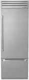 """DYF30BFTSR Dacor 30"""" Fully Integrated Bottom Freezer Refrigerator with FlushFit Built-in Appearance - Right Hinge - Stainless Steel"""