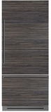 """DYF36BFBPR Dacor 36"""" Fully Integrated Bottom Freezer Refrigerator with Epicure Handle - Right Hinge - Custom Panel"""