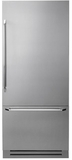 """DYF36BFBSR Dacor 36"""" Fully Integrated Bottom Freezer Refrigerator with Epicure Handle - Right Hinge - Stainless Steel"""