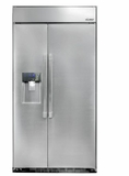 """DYF42BSIWS Dacor 42"""" Built-In Refrigerator with 25.6 cu. ft. Capacity and Premium LED Internal Lighting - Stainless Steel"""
