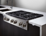 """DYRTP366SNG Dacor Discovery 36"""" Professional Style Gas Rangetop - Natural Gas - Stainless Steel"""