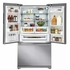 """E23BC69SPS 36"""" Electrolux Icon Professional Series Counter Depth French Door Refrigerator with Smooth-Glide Crispers and PureAdvantage Filtration - Stainless Steel"""