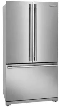 "E23BC69SPS 36"" Electrolux Icon Professional Series Counter Depth French Door Refrigerator with Smooth-Glide Crispers and PureAdvantage Filtration - Stainless Steel"