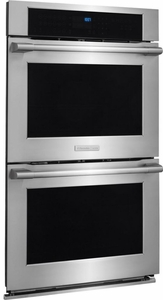 "E30EW85PPS Electrolux Icon 30"" Professional Electric Double Wall Oven with Smooth-Glide Oven Racks - Stainless Steel"
