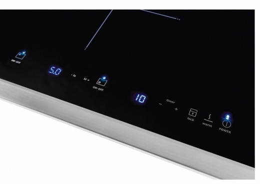 "E30IC80QSS Electrolux Icon Designer Series 30"" Induction Cooktop with Quick Boil - Black with Stainless Steel Trim"
