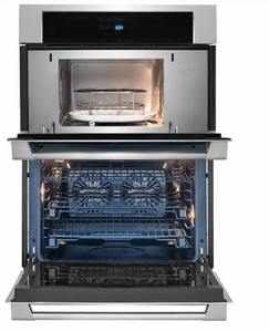 "E30MC75PPS 30"" Electrolux ICON Professional Series Microwave Combination Oven with Wave-Touch Controls and Theatre Lighting - Stainless Steel"