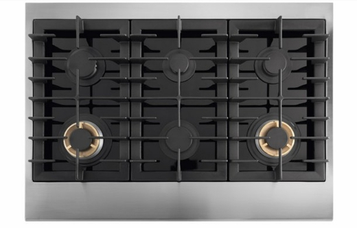 "E36GC76PRS 36"" Electrolux ICON Gas Slide-In Cooktop with Min-2-Max Burners and Professional-Style Controls - Stainless Steel"