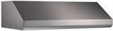 "E6436SS Broan 36"" Under Cabinet Range Hood with 600 CFM Internal Blower and Pro-Style Dishwasher Safe Baffle Filters - Stainless Steel"
