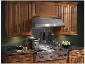 "E64E36SS Broan 36"" Under Cabinet Range Hood with Variable Speed Controls and Pro-Style Dishwasher Safe Baffle Filters - Stainless Steel"